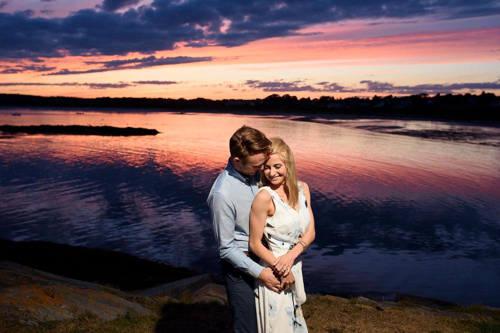 Coastal Maine Engagement Portraits