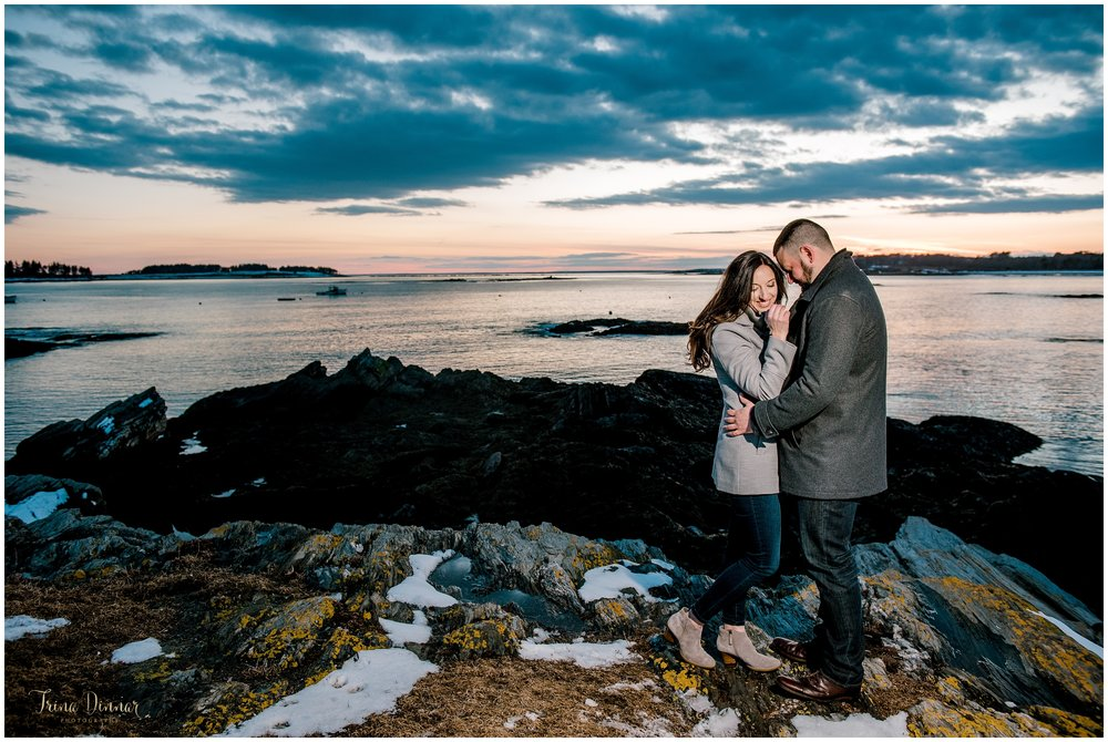 Southern Maine Engagement Photography by Trina Dinnar