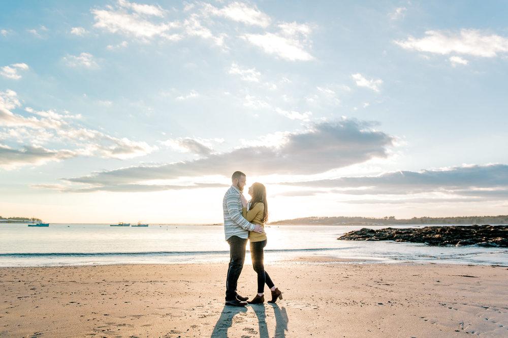 Portland Maine Engagement Photographers