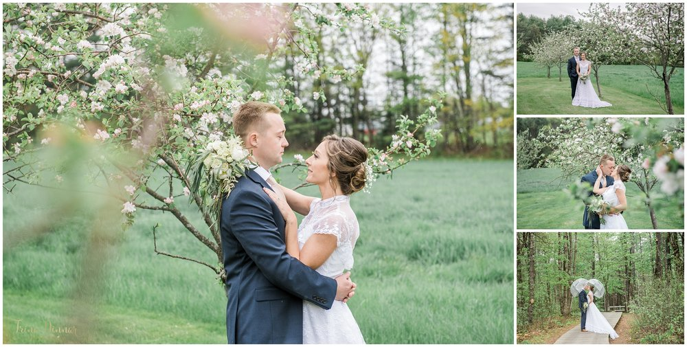 Maine Spring Wedding Photography by Trina Dinnar