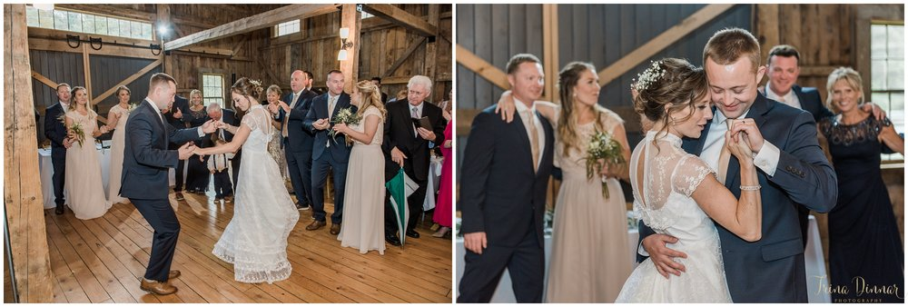 Barn Wedding in Buxton Maine