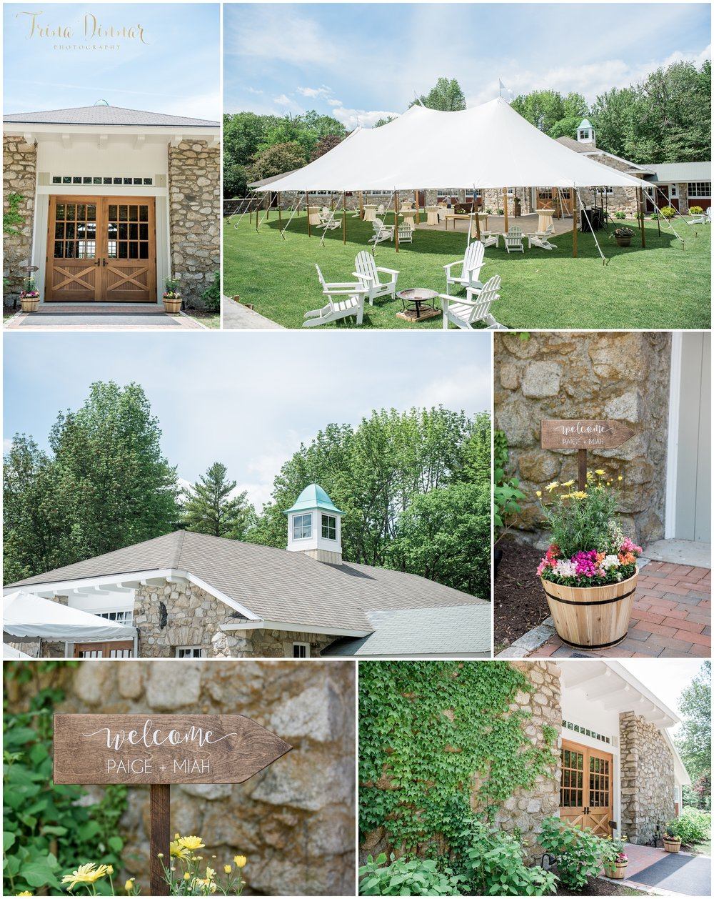 The Stone Barn Maine Wedding at St. Joseph's College