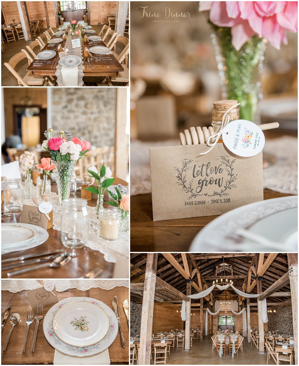 Rustic Maine Barn wedding inspiration