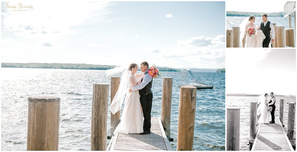 Sebago Lake Maine Wedding Photography