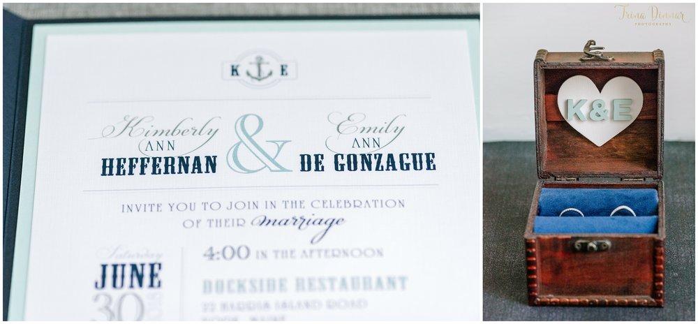 Wedding Invitation and Ring Box