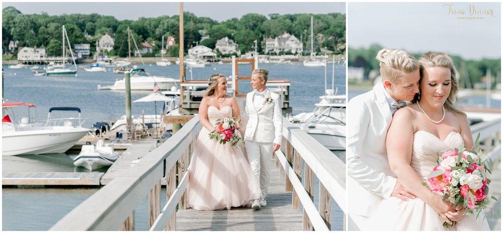 Maine Lesbian Wedding Photography