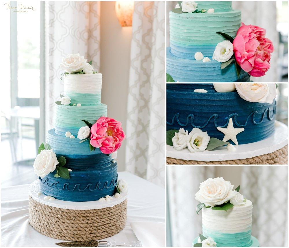 Wicked Sweet Sugar Boutique Hampton NH Wedding Cake