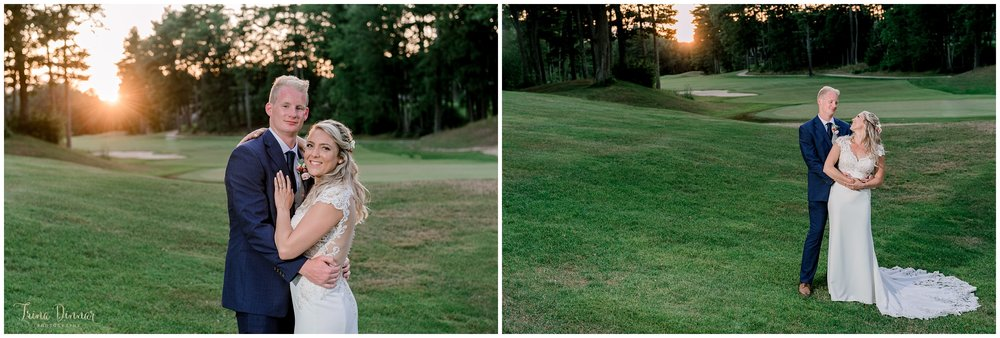 Wedding Photography at the Dunegrass Golf Club in Old Orchard Beach, Maine.