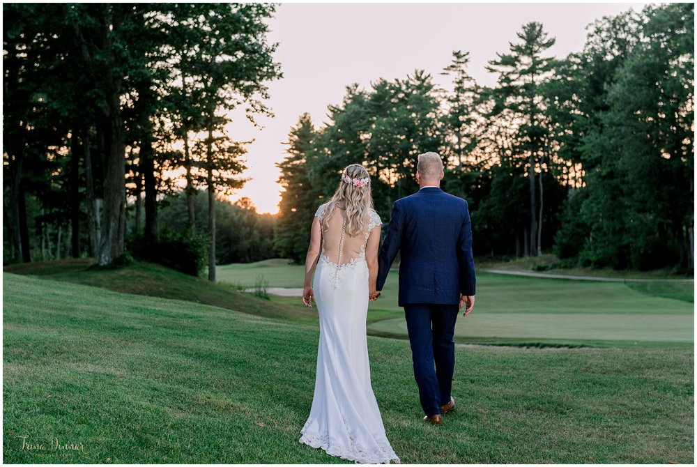 Dunegrass Golf Club Old Orchard Beach Wedding Photography