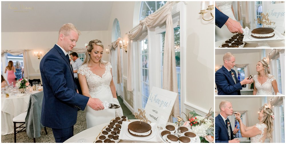 Giant Whoopie Pie Maine Cake Cutting