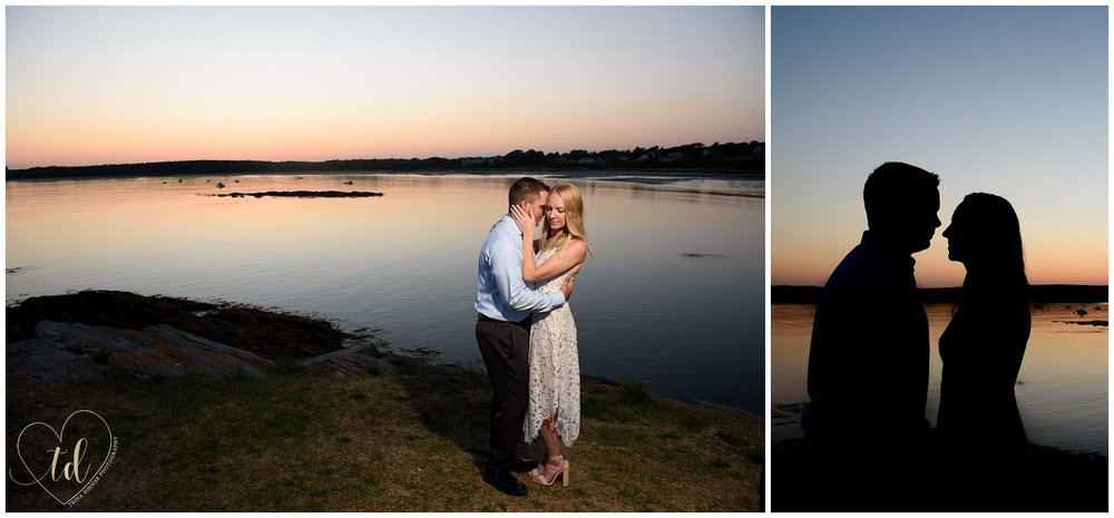 Photos from Ashton and John's Southern Maine Engagement Portrait Session by Trina Dinnar