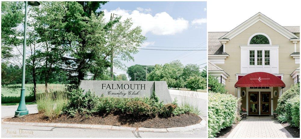 Wedding Venue: Falmouth Country Club Falmouth Maine