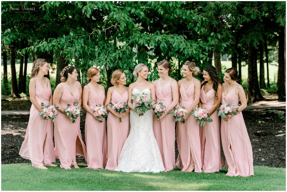 Bridal Party Portrait Wedding Photography in Falmouth, ME