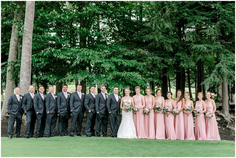 Wedding Party Portrait in Falmouth Maine