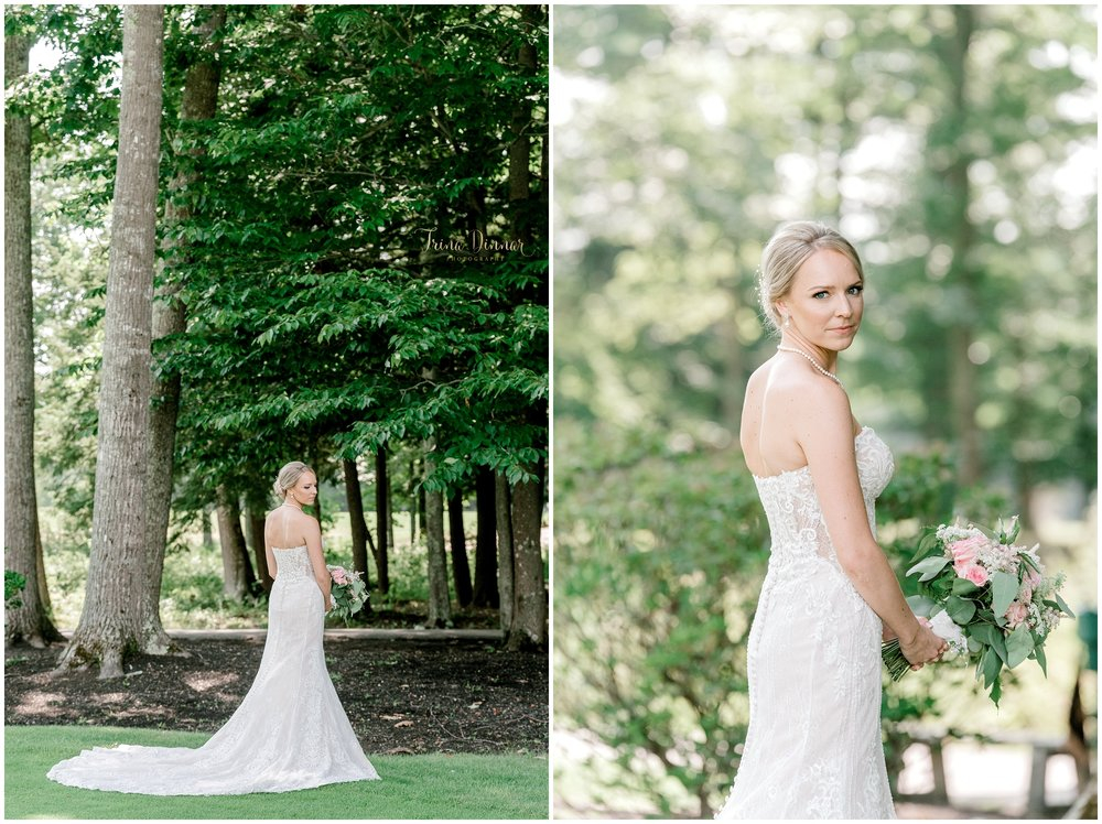 Ashton's Bridal Wedding Portraits at the Falmouth Country Club in Falmouth, ME