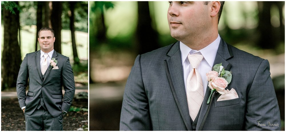 Maine Country Club Groom Portraits