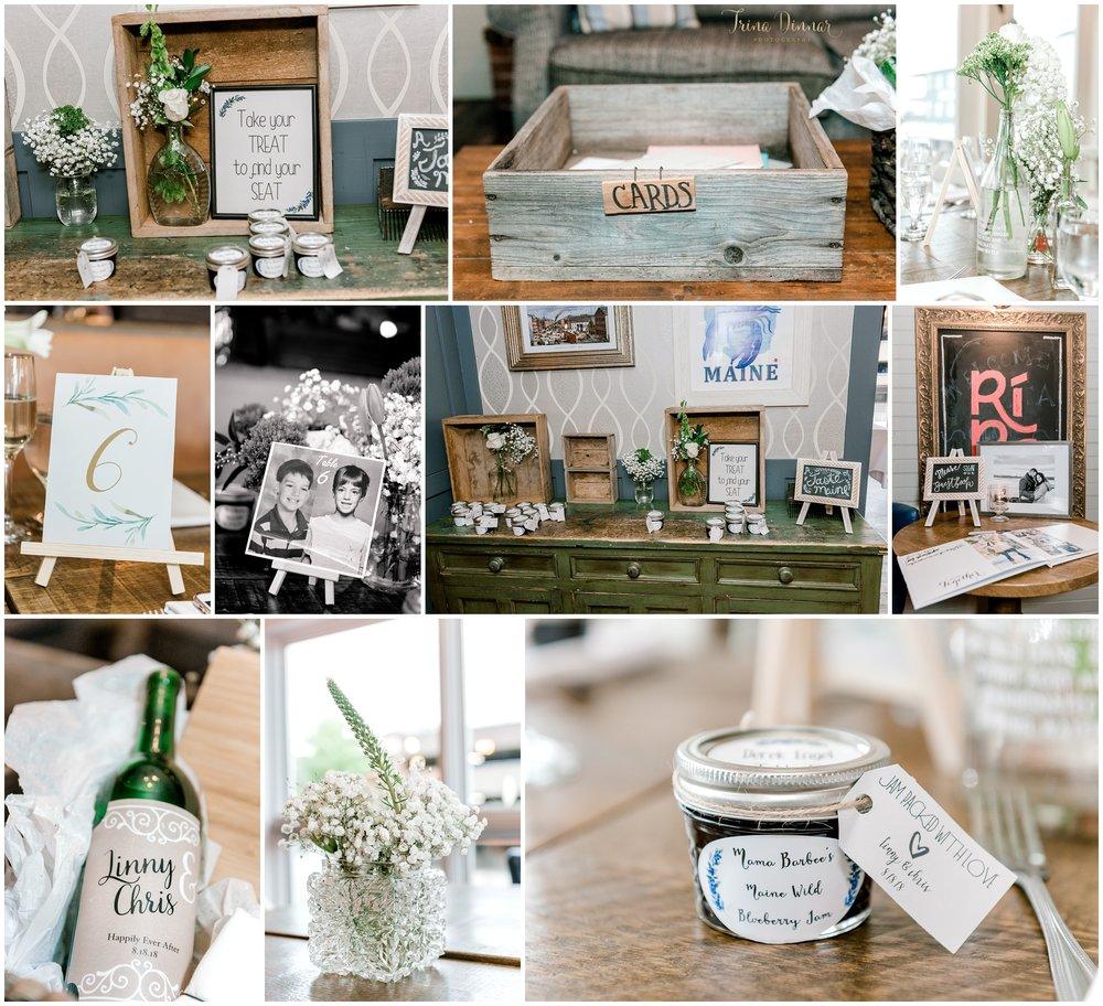 Rí Rá Portland Maine Wedding Decor