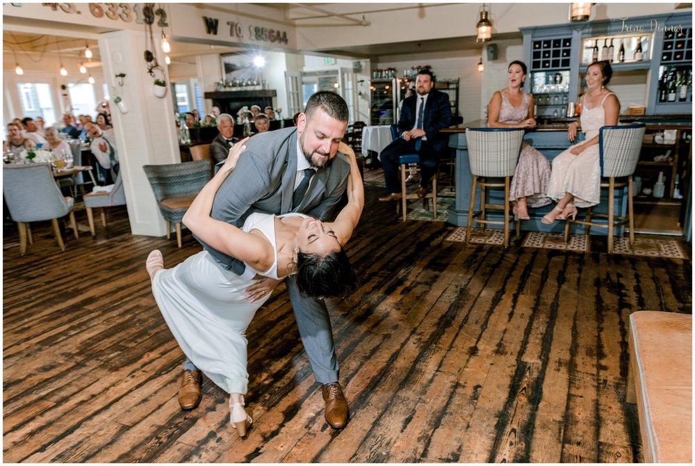 Wedding photography at Rí Rá Irish Pub & Restaurant in Portland, Maine.