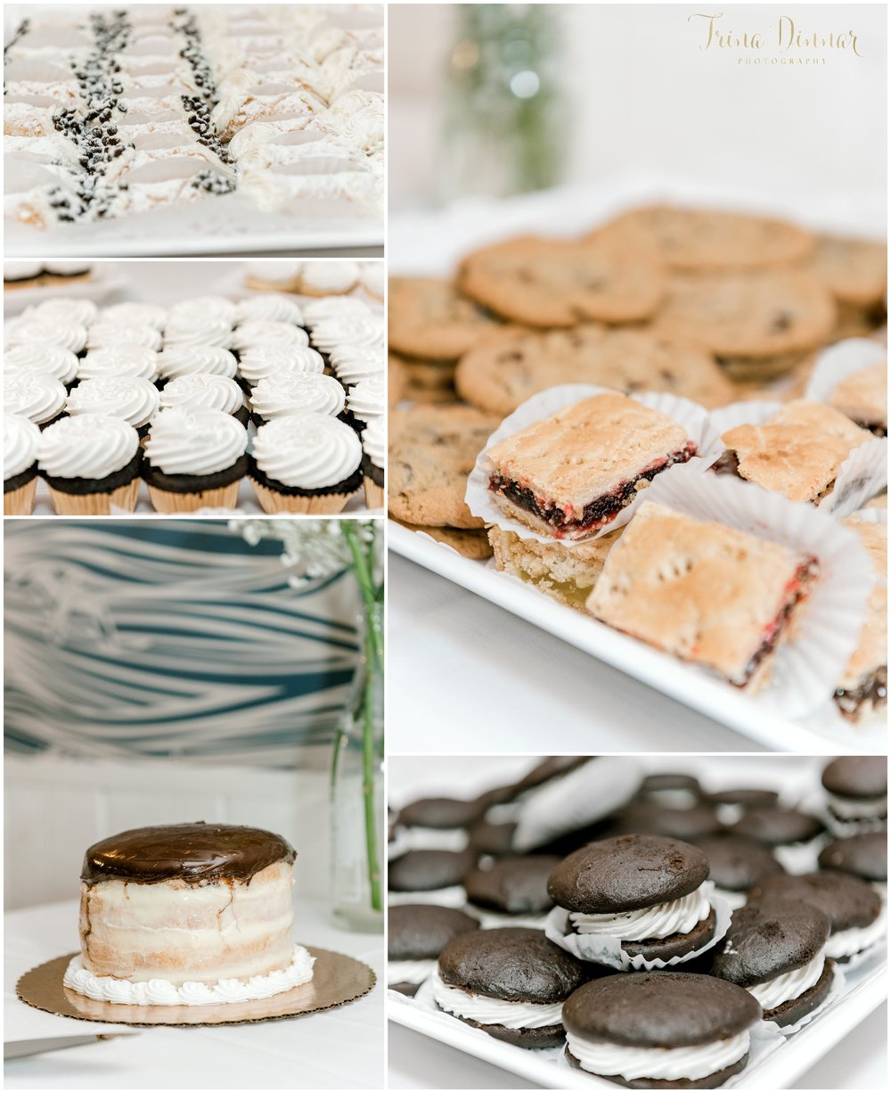 Cake and Desserts at reception
