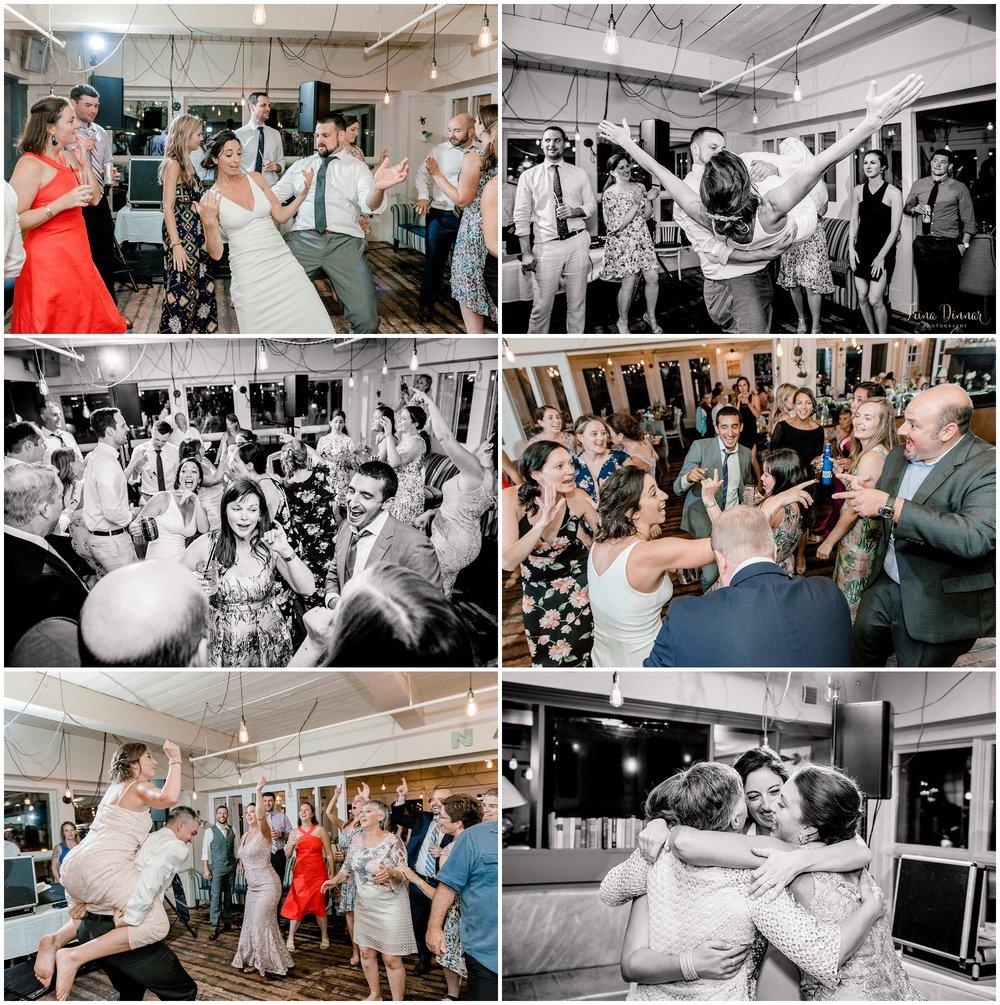 Rí Rá wedding reception dancing