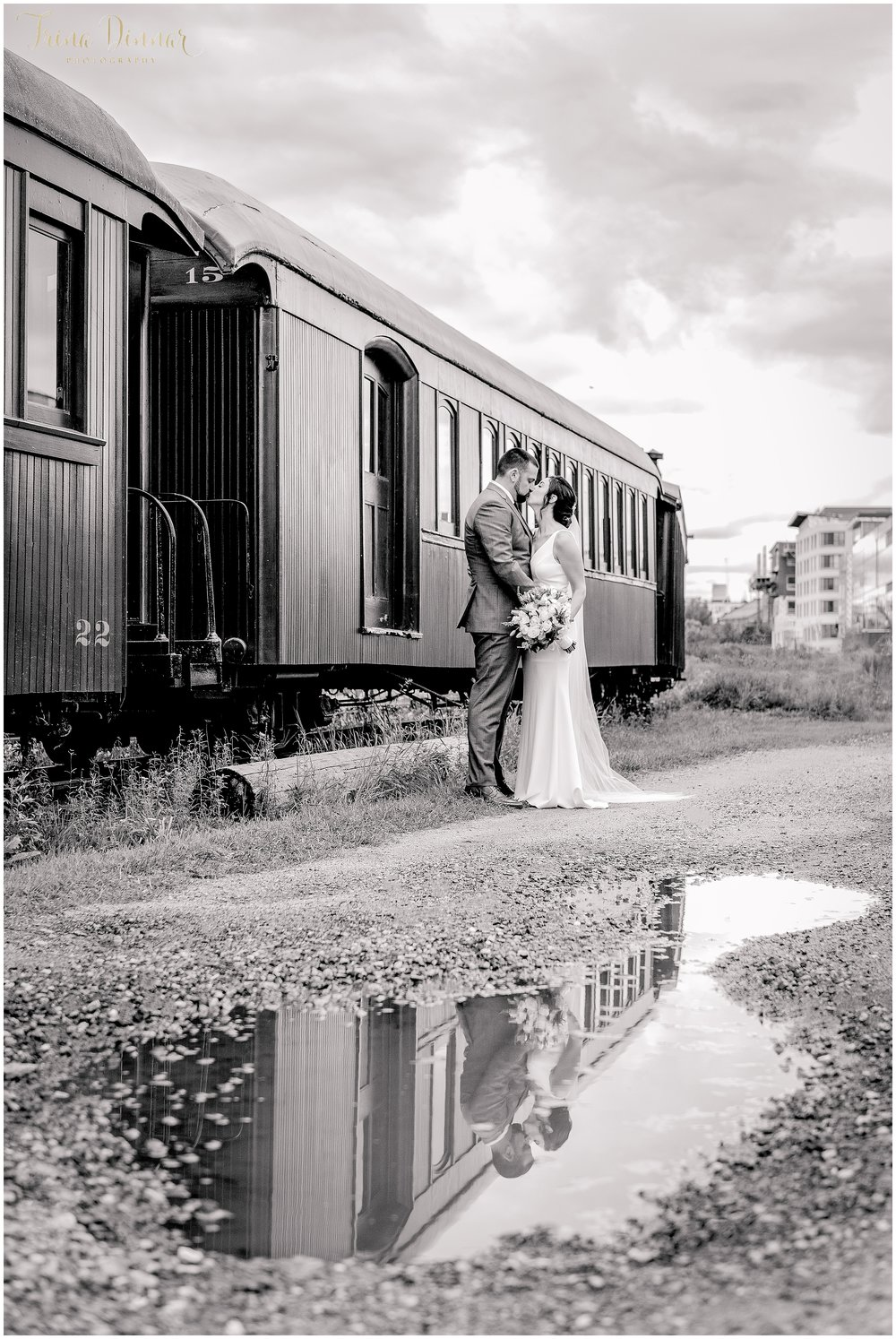Narrow Gauge Railroad Portland Maine Wedding