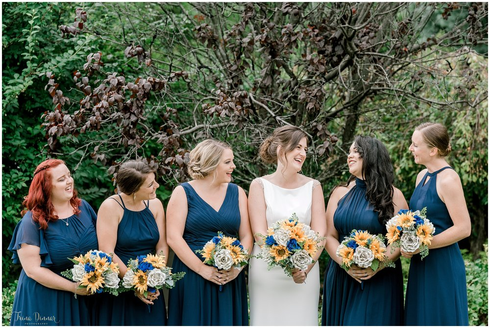 Erica and her Bridesmaids
