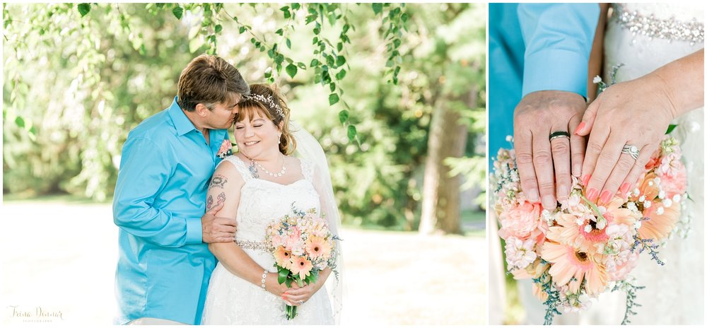 Coastal Maine Wedding Day Portraits