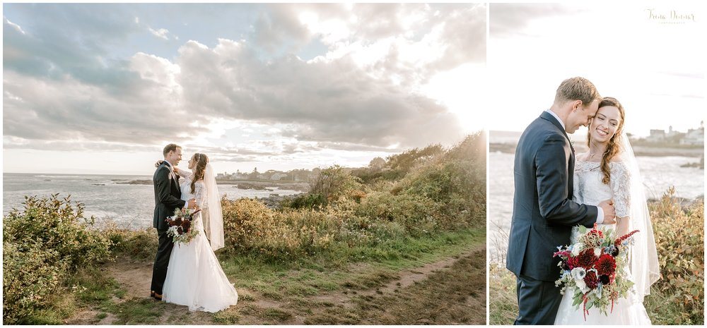 Biddeford Pool Seaside Coastal Wedding Portraits