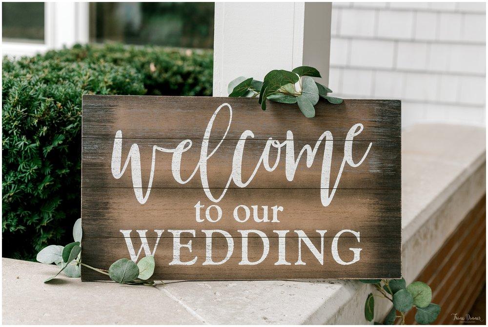 Lindsey and Evan's wedding ceremony