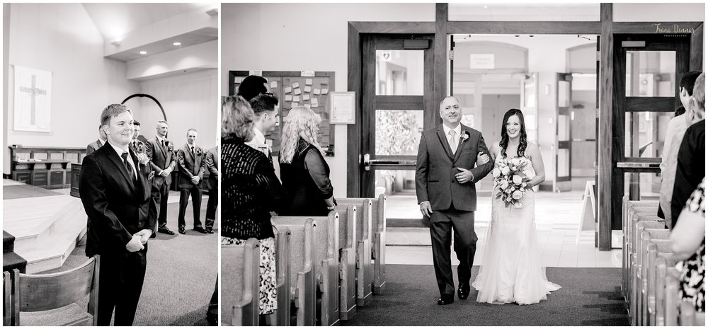 Maine wedding at St. Maximilian Kolbe