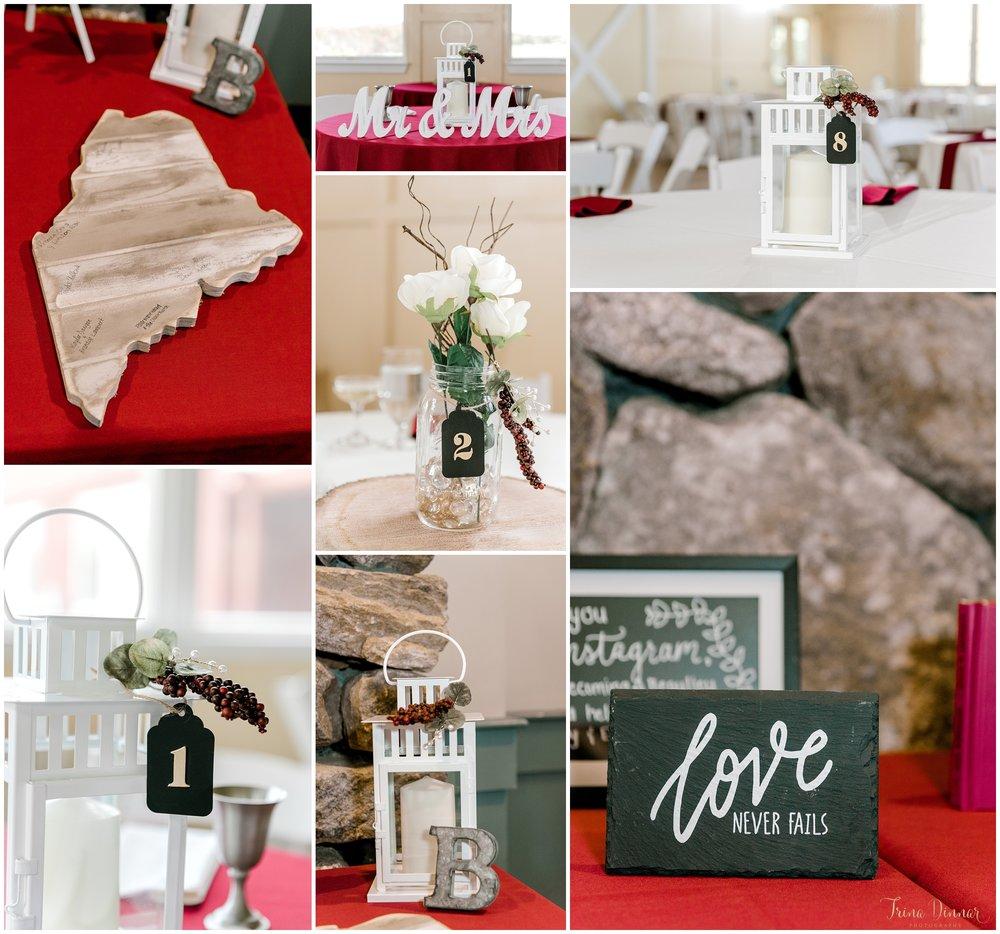 Rustic Elegant Maine wedding details