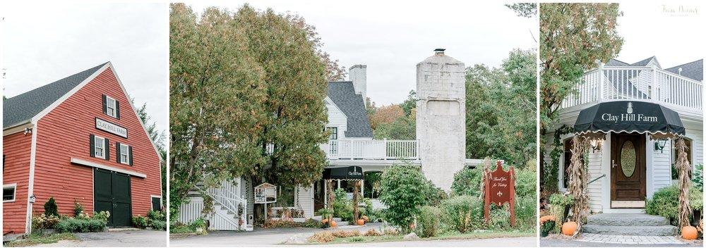 Clay Hill Farm is a Cape Neddick Maine Wedding Venue