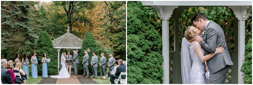 Maine wedding ceremony photos