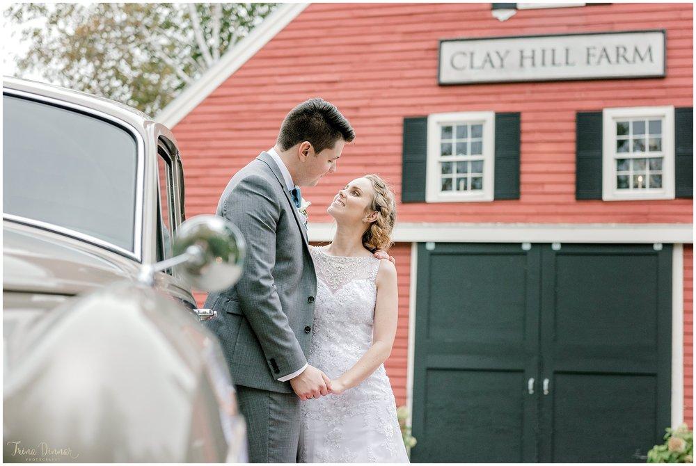 Clay Hill Farm Cape Neddick Maine Wedding