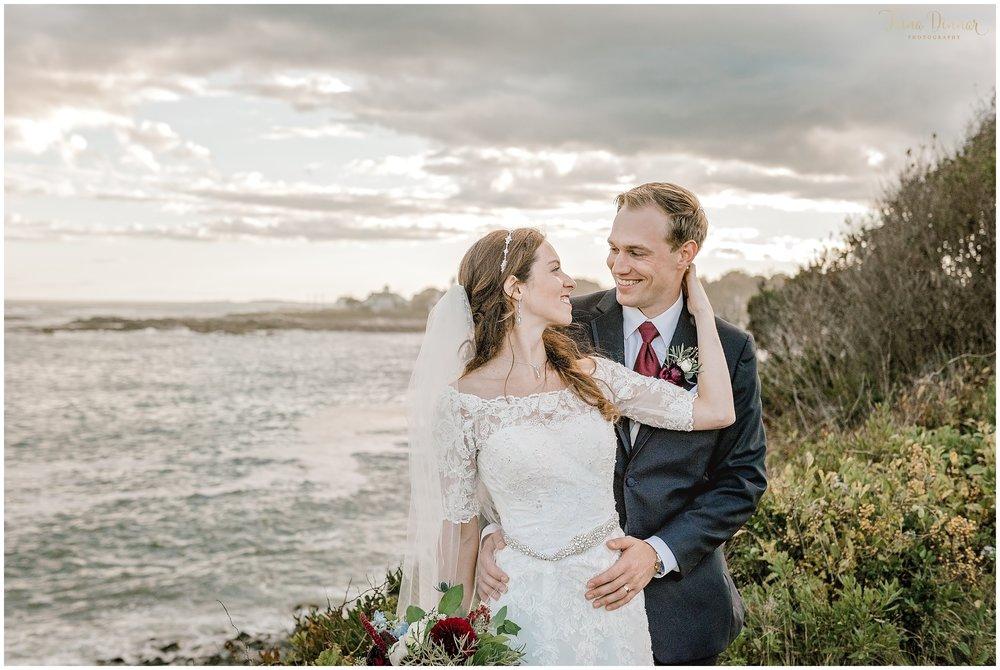 Jennifer and Michael's Biddeford Pool Maine Wedding