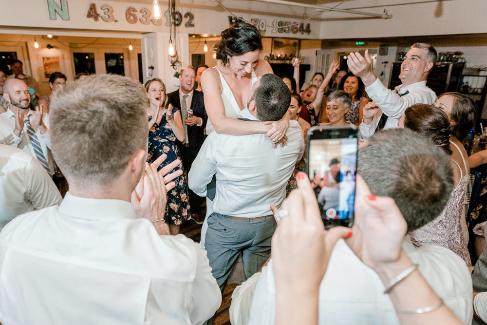 RiRa Portland Maine Wedding Reception Dancing