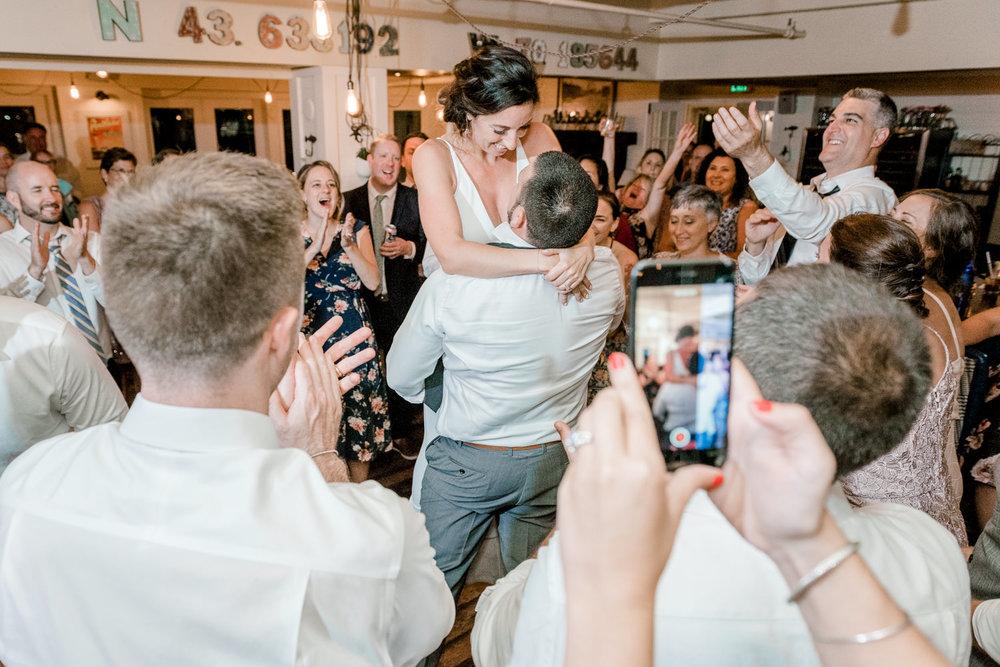 RiRa Portland Maine Wedding Reception Dancing