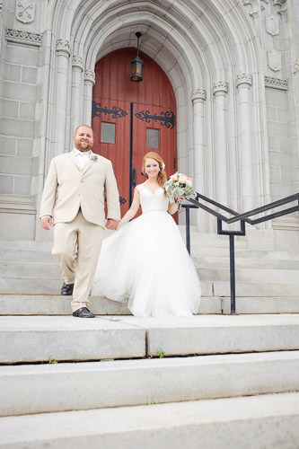 Southern Maine wedding photography at the Franco American Heritage Center.