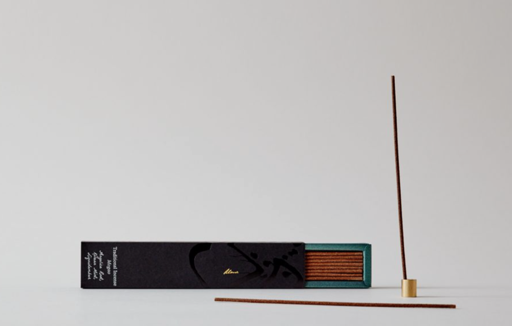 ume natural incense stick in Los Angeles bodhi tree.png