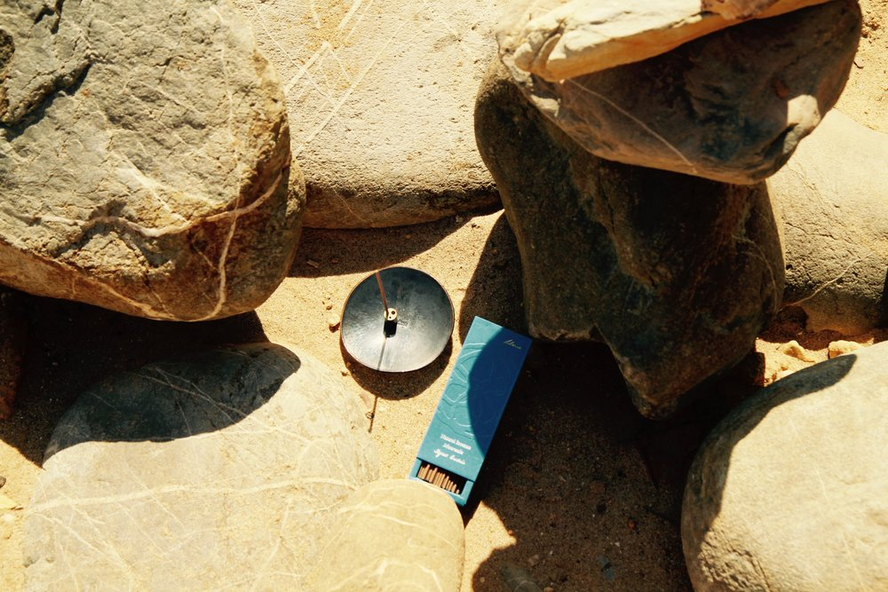 Monreale & Titanium Grey Incense Holder