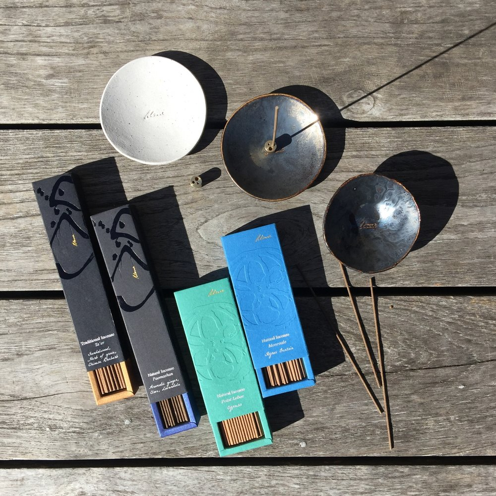 ume collection makers of natural incense sticks using high quality aromatic plant materials. highline new york city