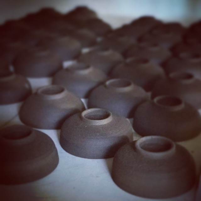 ume incense stoneware incense bowls.JPG