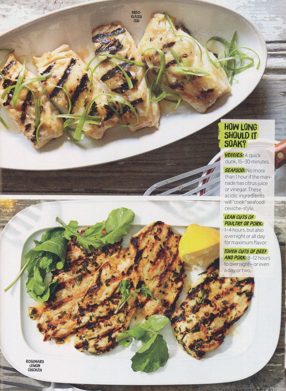 miso cod and rosemary lemon grilled chicken pics.jpg
