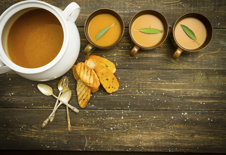 Best Ever Butternut Squash Bisque