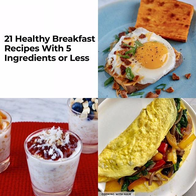 Weekday mornings can be stressful...but a Happy-Healthy breakfast doesn't have to be! ❤️ - Link in bio to this fun & helpful roundup by @preventionmag featuring 3 of my top  breakfast recipes! Sweet, savory, & make-ahead options too 🙌 - 🥓 Bacon, Egg, & Cheese Sweet Potato Toast - 🍓Easiest Ever, Overnight Oats - 3 Ways! - 🍳 Veggie Packed Omelette - Which would you choose??? 😋 - - #cookingwjulie #healthyrecipe #easyrecipes #ww #wwfreestyle #wellnesswednesday #breakfastideas #thenewhealthy #healthyishappy #healthyish #hoboken #asburypark #recipeshare