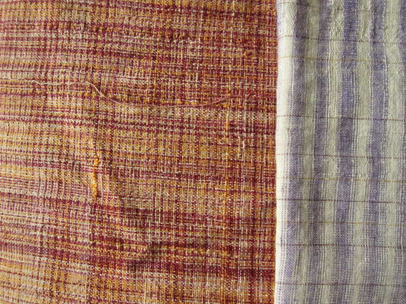 For me as a quilter, khadi was an extremely interesting fabric to come across.