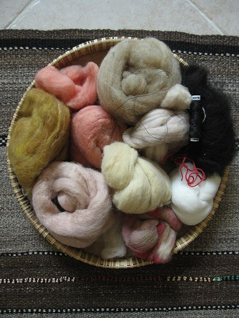 fiber palette natural dyed