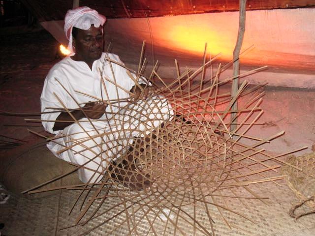 qatar dhow festival basket maker