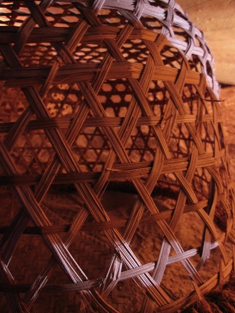 fish trap basket detail