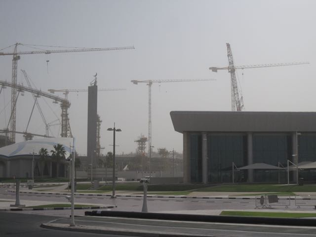 Aspire zone, where my fitness club is. The stadium is being modified for 2022.